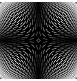 Design monochrome abstract backdrop vector image