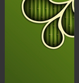 Fresh bamboo background vector image vector image