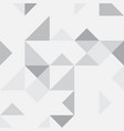 grey abstract geometric background vector image vector image