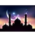 ramadan design vector image vector image