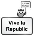 Republic vector image