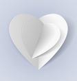 Romantic origami vector image vector image