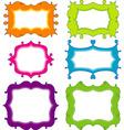 scrapbook elements for design vector vector image
