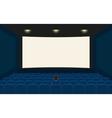 Empty cinema vector image