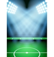 Background for posters night football soccer vector image vector image