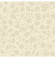 beige plant silhouette stripes vector image vector image