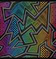 bright cloth geometric seamless pattern vector image