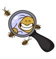 cockroach cartoon vector image vector image