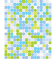 colorful squares and circles vector image vector image