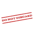Do Not Discard Watermark Stamp vector image vector image