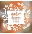 Great Autumn Sale Banner vector image