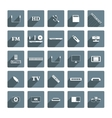 Icons digital devices vector image vector image