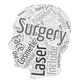 Learn How To Cosmetic Laser Surgery With Ease text vector image vector image
