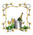 luxury and elegant cartoon vector image vector image
