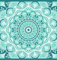 mandala decorative and pattern design vector image vector image