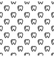 molar icon simple style vector image vector image