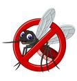 no mosquito symbol vector image vector image