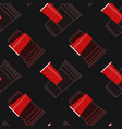 red party cups seamless pattern vector image vector image