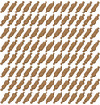 rolling pins wallpaper on white background vector image vector image