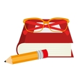 set school supplies icons vector image