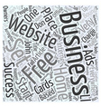 Set Your Home Based Business FREE Word Cloud