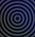 Silver metallic background with concentric circles vector image vector image