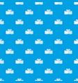 tasty turkish delight pattern seamless blue vector image vector image