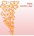 Valentines day colorful vector image vector image