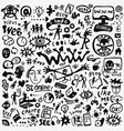 web doodle set vector image vector image