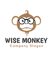 Wise Monkey Design vector image
