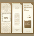 set of design elements labels icon logo vector image