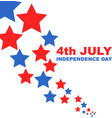 4th july independence day flat vector image