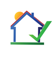House logo vector image vector image