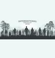 international migrants day 18 december web banner vector image