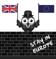 Pro European Union vector image