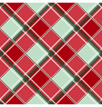 Red Green Diamond Chessboard Background vector image vector image