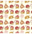 Seamless pattern made of sweets vector image vector image