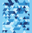 seamless triangular patter vector image