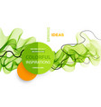 abstract colorful background color wave vector image vector image