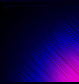 abstract diagonal lines on blue and pink vector image vector image