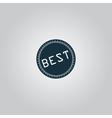 Best Badge Label or Sticker vector image vector image
