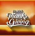 blurred background of thanks given design vector image