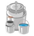 Capacities for liquid vector image vector image