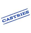 Castries Watermark Stamp vector image vector image