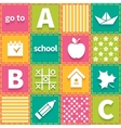 Colorful seamless patchwork vector image vector image