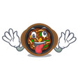crazy bulgogi isolated with in character vector image vector image