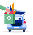 Food delivery service concept online order