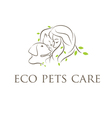 icon veterinary clinic with cat and dog vector image vector image