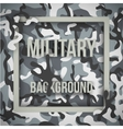 Military modern camo background vector image vector image