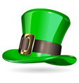St Patrick hat vector image vector image
